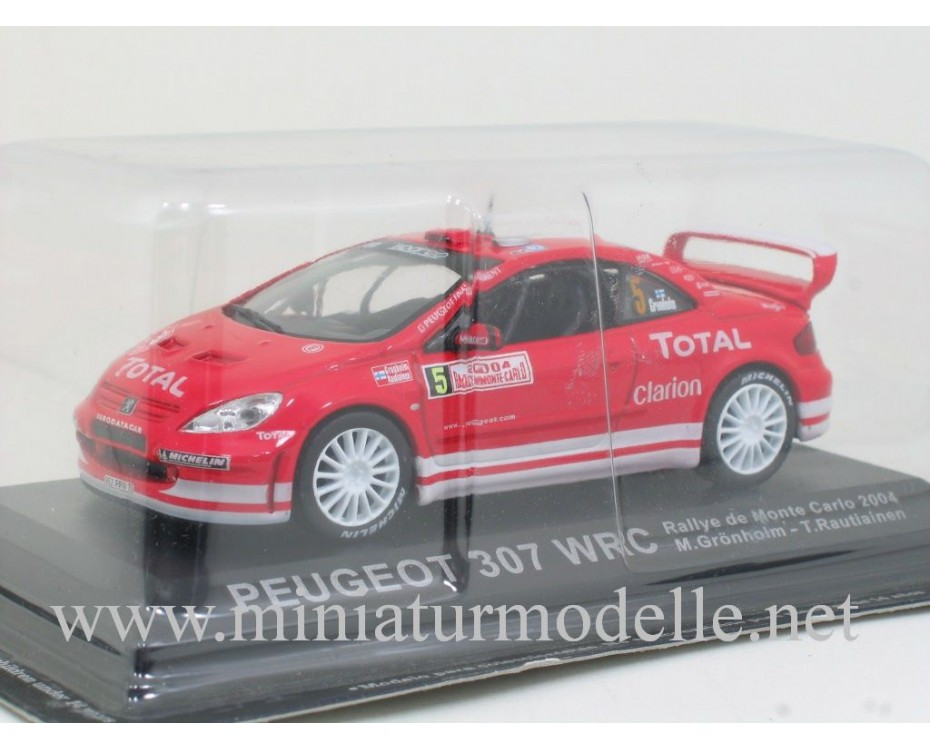 1:43 Peugeot 307 WRC, Rallye de Monte Carlo 2004, M. Gronholm - T. Rautiainen