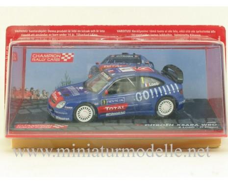 1:43 Citroen Xsara WRC, Champion Rally cars 2006, S. Loeb - D. Elena