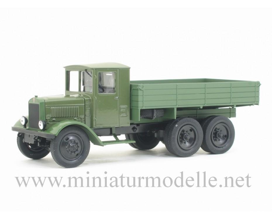 1:43 YaG 10 open side, light green, military, H280, Nash Avtoprom by www.miniaturmodelle.net