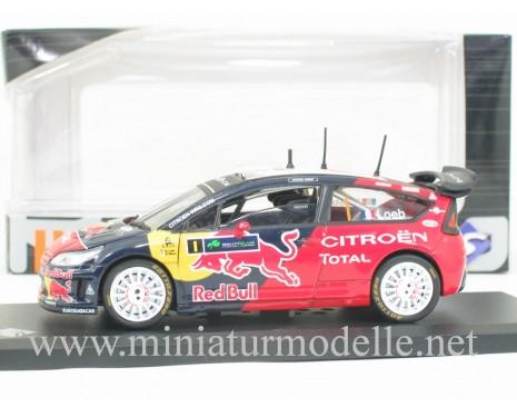 1:43 Citroen C4 WRC, Ireland 2009, S. Loeb
