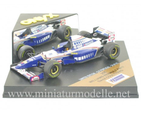 1:43 Williams Renault FW17 #6 David Coulthard, Onyx 256