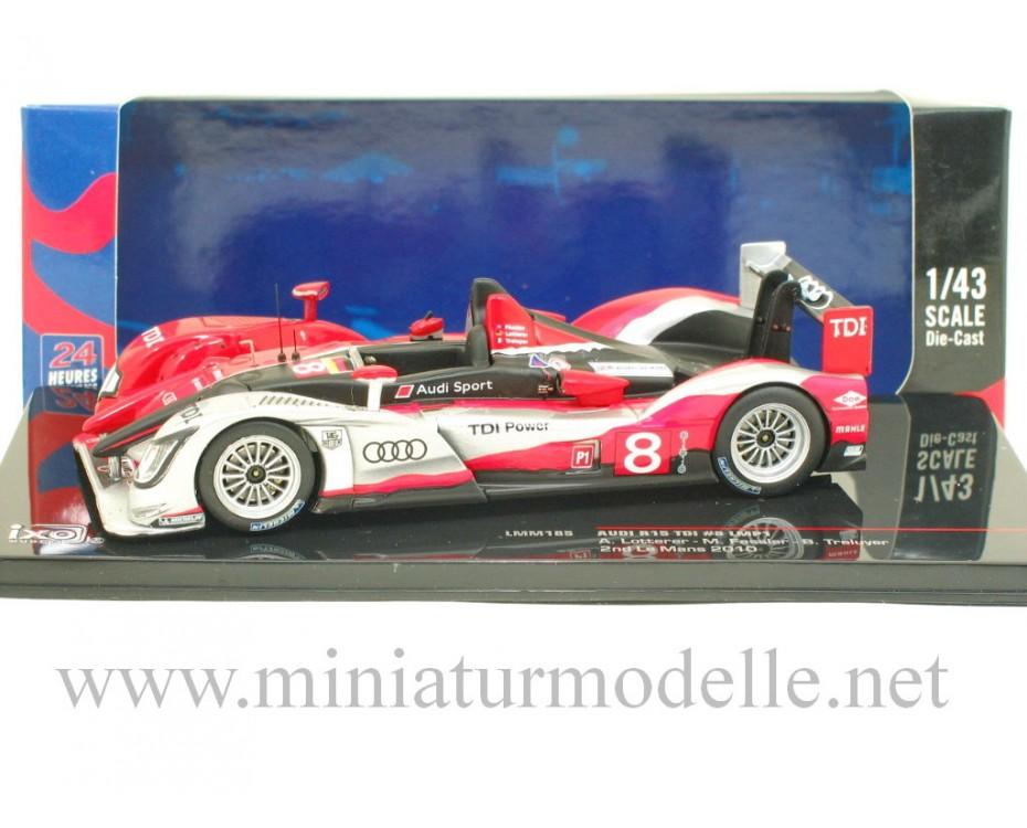 1:43 Audi R15 TDI LMP1, Le Mans 2010, Ixo Models, LMM185