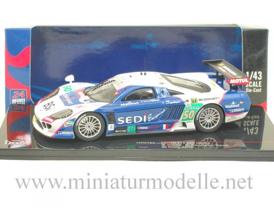 1:43 Saleen S7R #50 LMGT1, Le Mans 2010, Ixo Models, LMM194