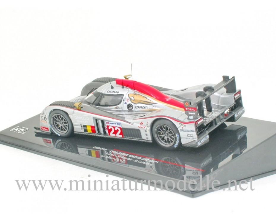 1:43 Lola Aston Martin #22 LMP1, Le Mans 2011, Ixo Models, LMM214