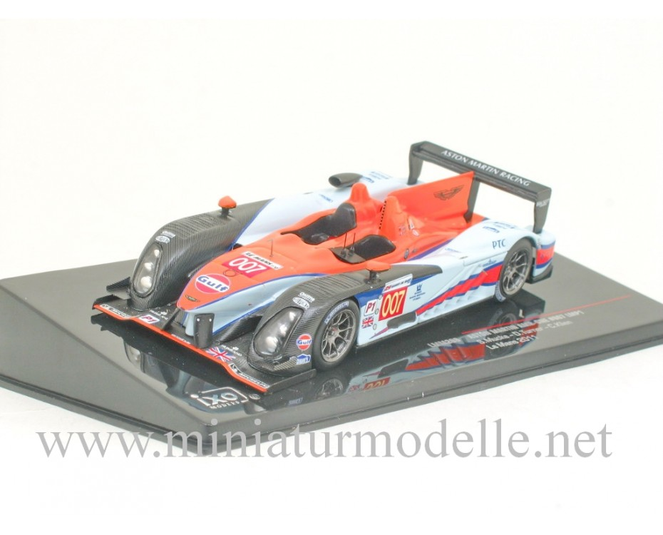 1:43 Aston Martin AMR-ONE #007 LMP1, Le Mans 2011, Ixo Models, LMM208