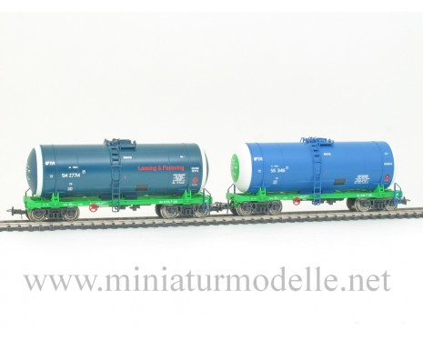1:87 H0 007 Tank wagon set for petrol transport of the EVR, era 5