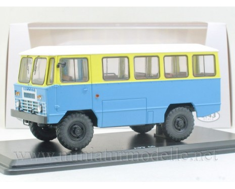 1:43 APP 66 Bus GAZ 66, zivil