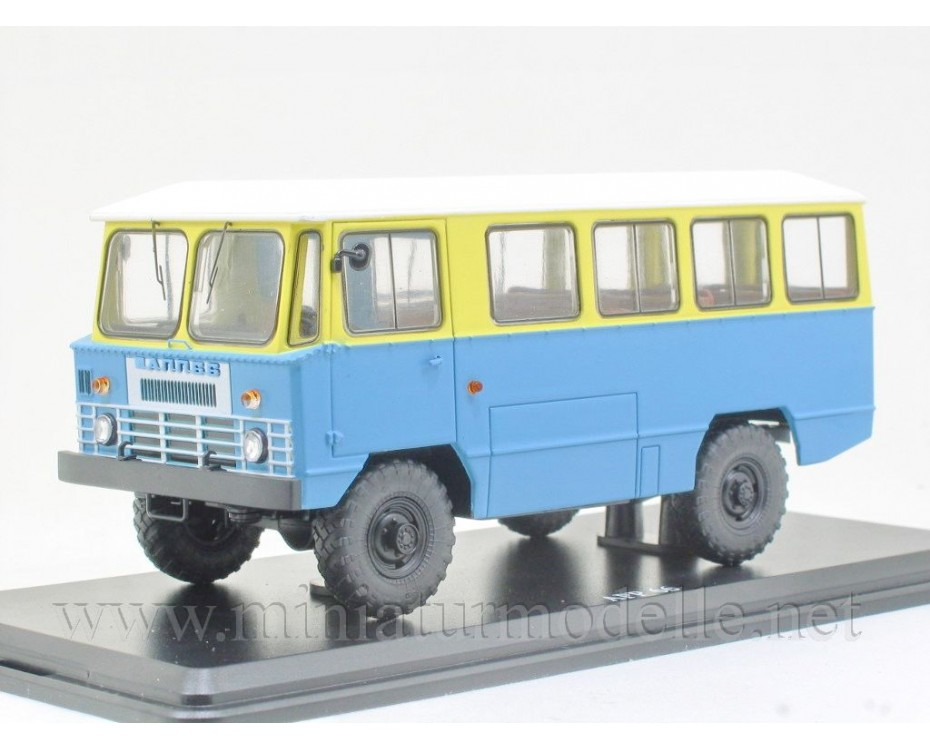 1:43 APP 66 Bus GAZ 66, zivil