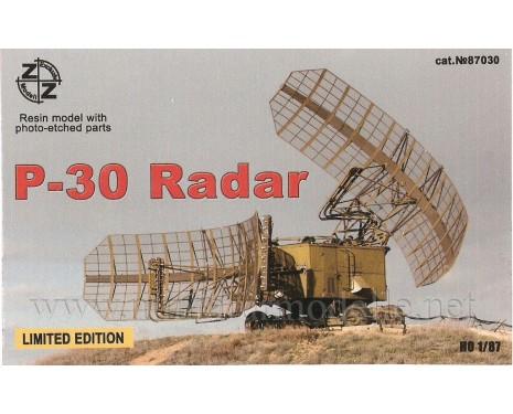 H0 1:87 P-30 Radar militär, Kleinserie