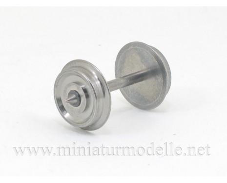 1:87 H0 Wheel set / axis D 11.0 mm