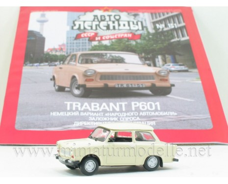 1:43 Trabant P 601 with magazine #113
