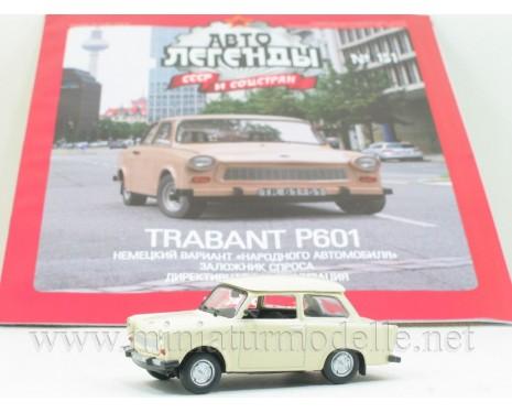 1:43 Trabant P 601 Trabi mit Zeitschrift #113