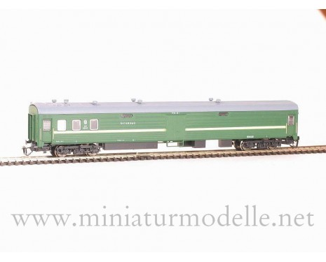 1:120 TT 2110 Baggage van of the SZD livery, era 4