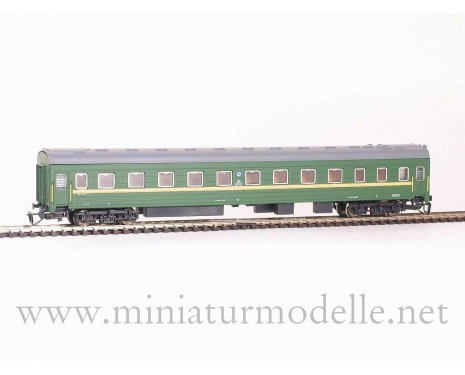 1:120 TT 2014 Long-distance sleeping car type Ammendorf of the RZD livery, era 5