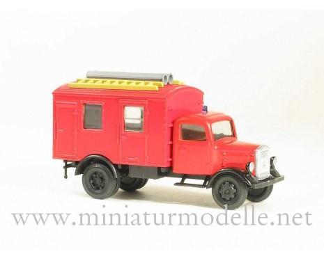 H0 1:87 MB L 3000 Koffer, Feuerwehr