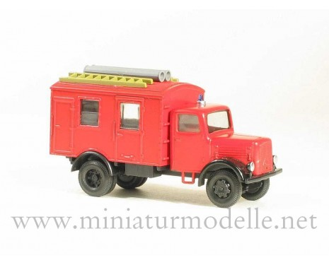 H0 1:87 Magirus S 330 closed side, fire
