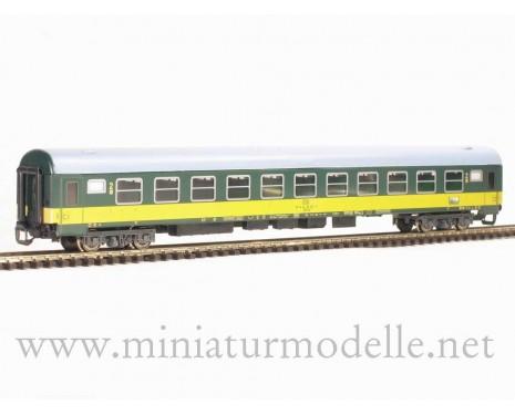 1:120 TT 7688 Personenwagen gelb/dunkelgrün CSD 2. Klasse 3-4 Epoche