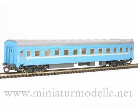 1:120 TT 2030 Long-distance sleeping car type Ammendorf of the SZD blue, era 4