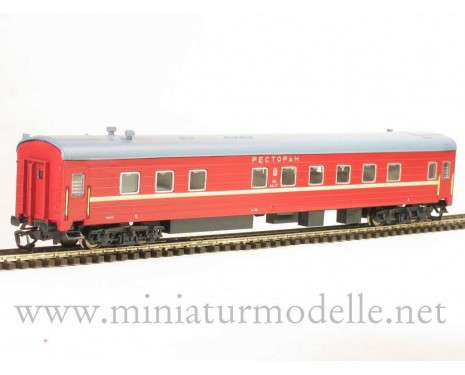 1:120 TT 2220 Restaurant car of the SZD red livery, era 4