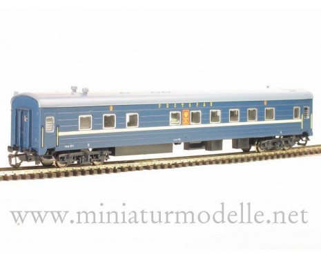 1:120 TT 2239 Restaurant car of the Nikolajevskij Ekspress livery, RZD, era 5 sutable # 2038 2039