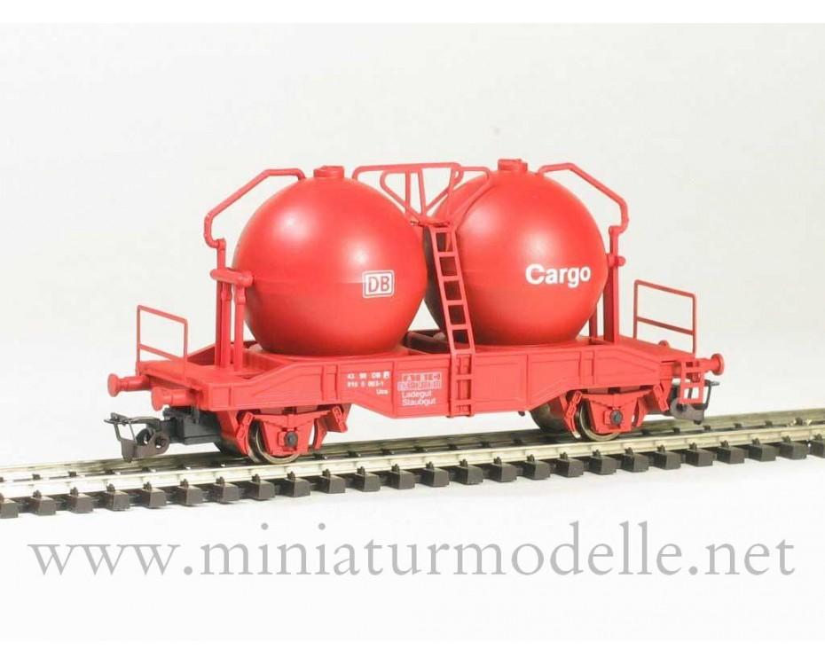 1:120 TT 3424 Zementsilowagen Ucs der DB- CARGO, rot, Epoche 5
