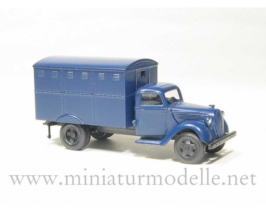 H0 1:87 Ford G917T Koffer, Polizei