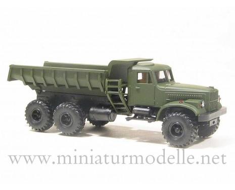 H0 1:87 KRAZ 255 S offroad dump, military